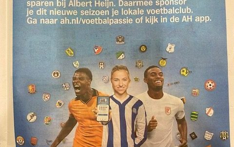 Voetbalpassie Actie Bij Albert Heijn Schelfhorst