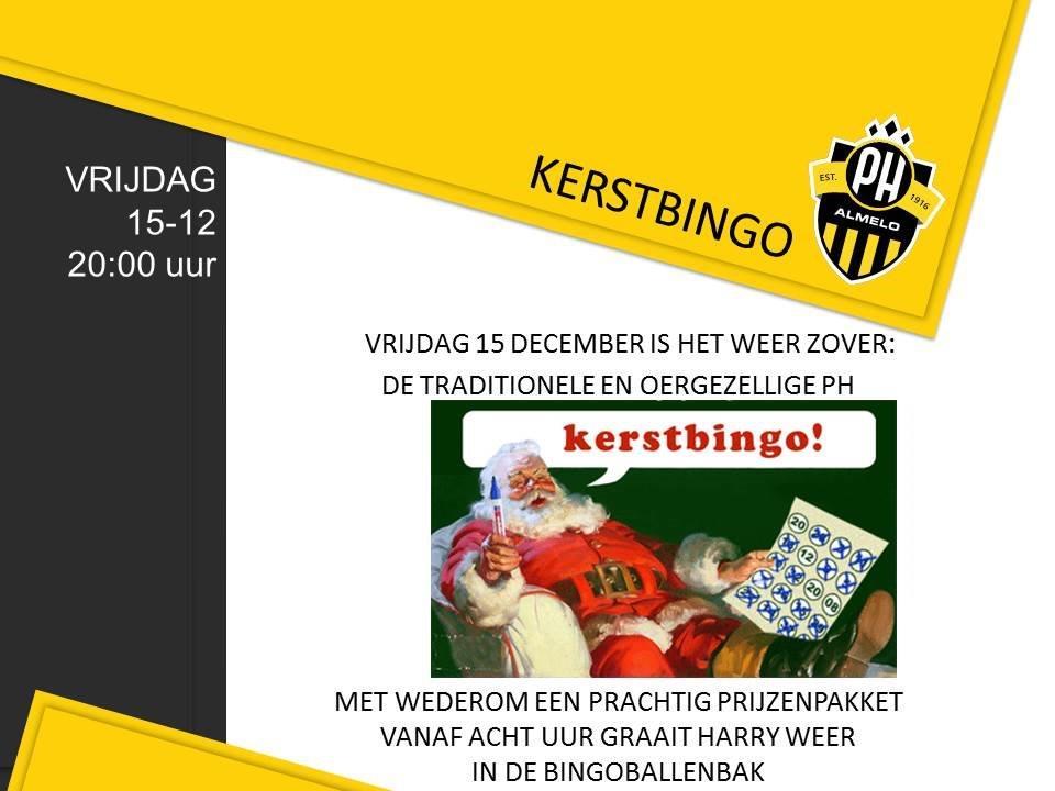 Gerard Kers Bingo