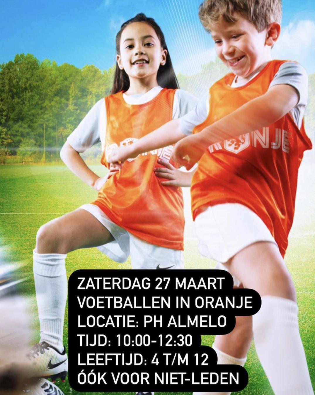 PH Almelo Organiseert Uniek Oranjefestival