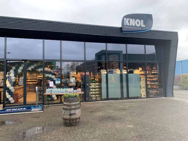 Knol Drankenservice Op Nieuwe Locatie