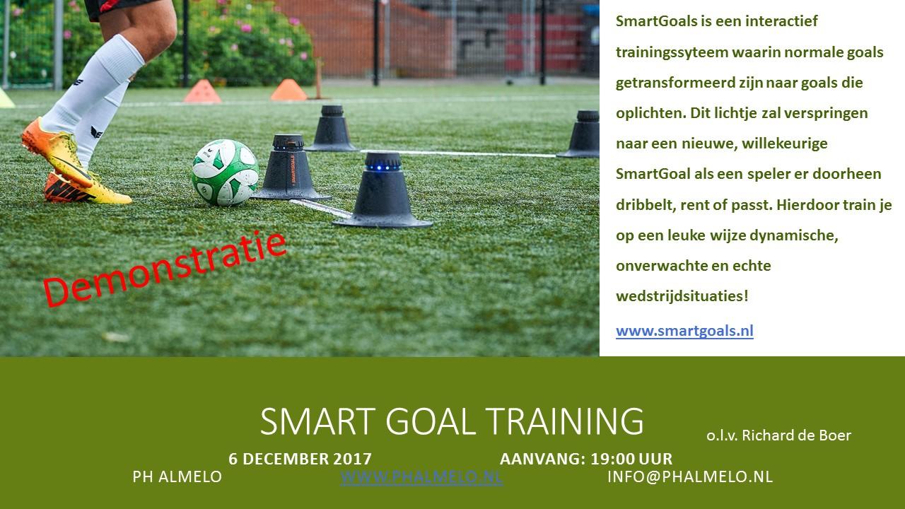 Demonstratie Smartgoal Training Gaat NIET Door