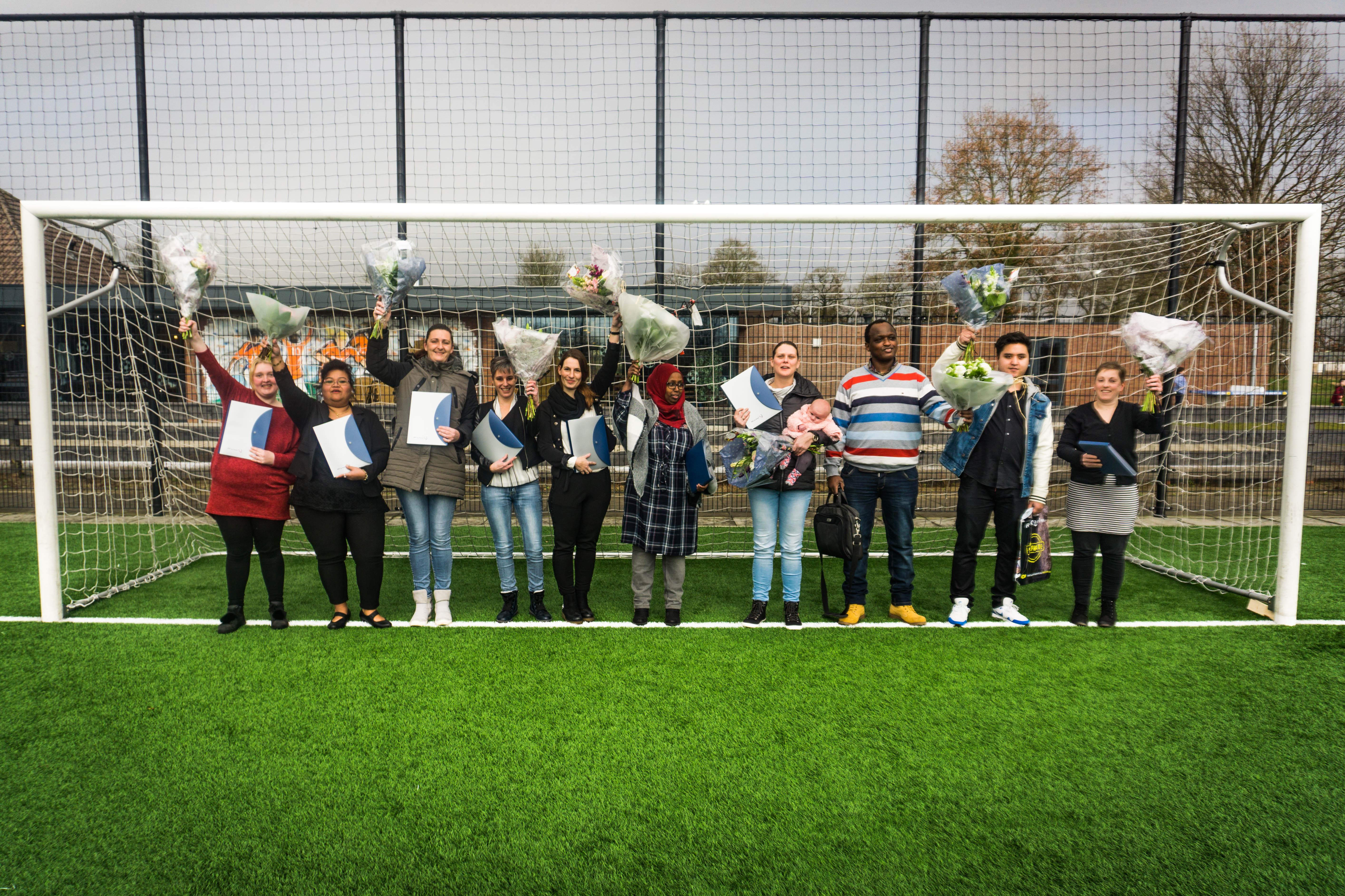 Studenten Scoren Diploma Bij Sportvereniging