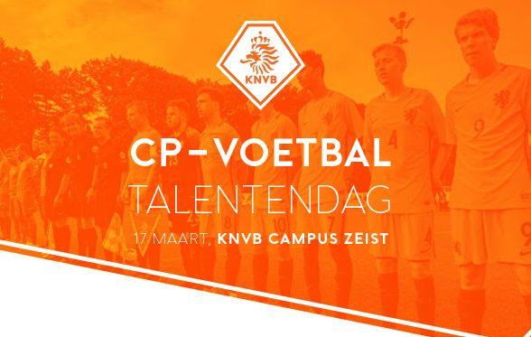 CP-voetbal Talentendag