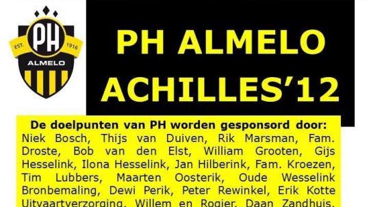 PH 1 – Achilles '12 1
